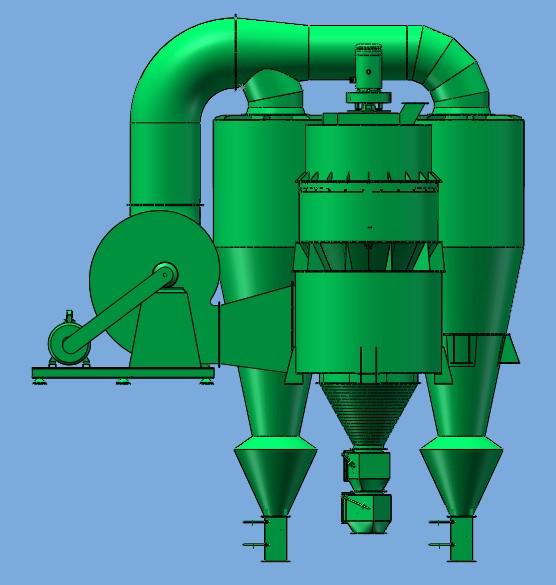 HXS-系列石粉选粉机