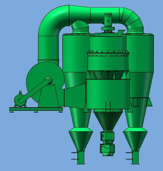 高效转子选粉机
