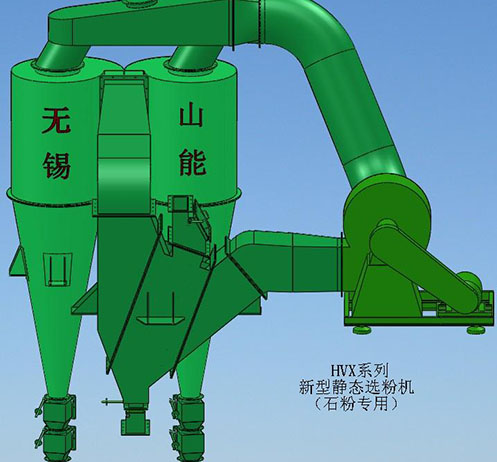 轻钙选粉机