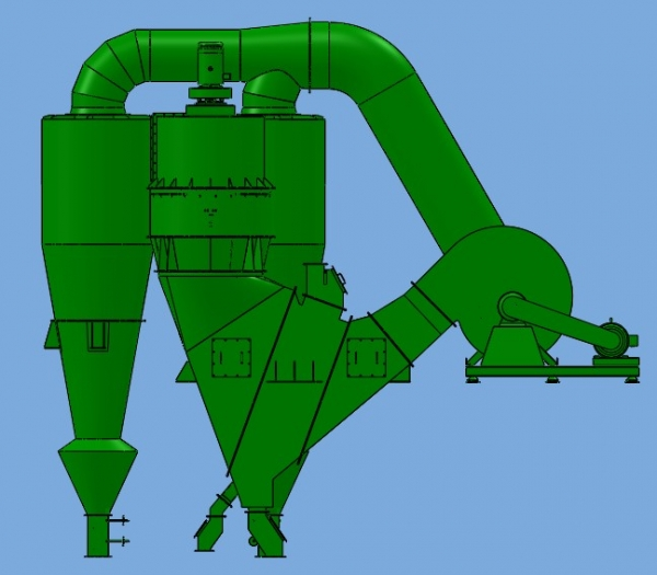 HDVX-系列机制砂除粉机